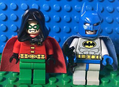Lego Batman And Robin minifig Lot Of 2 mini figures Damage