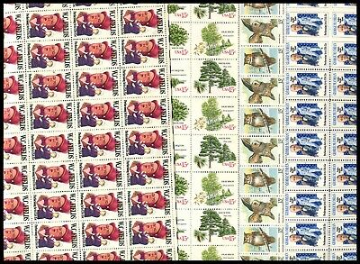 U.S. DISCOUNT POSTAGE LOT OF 100 15¢ STAMPS FACE $15.00 SELLING FOR $11