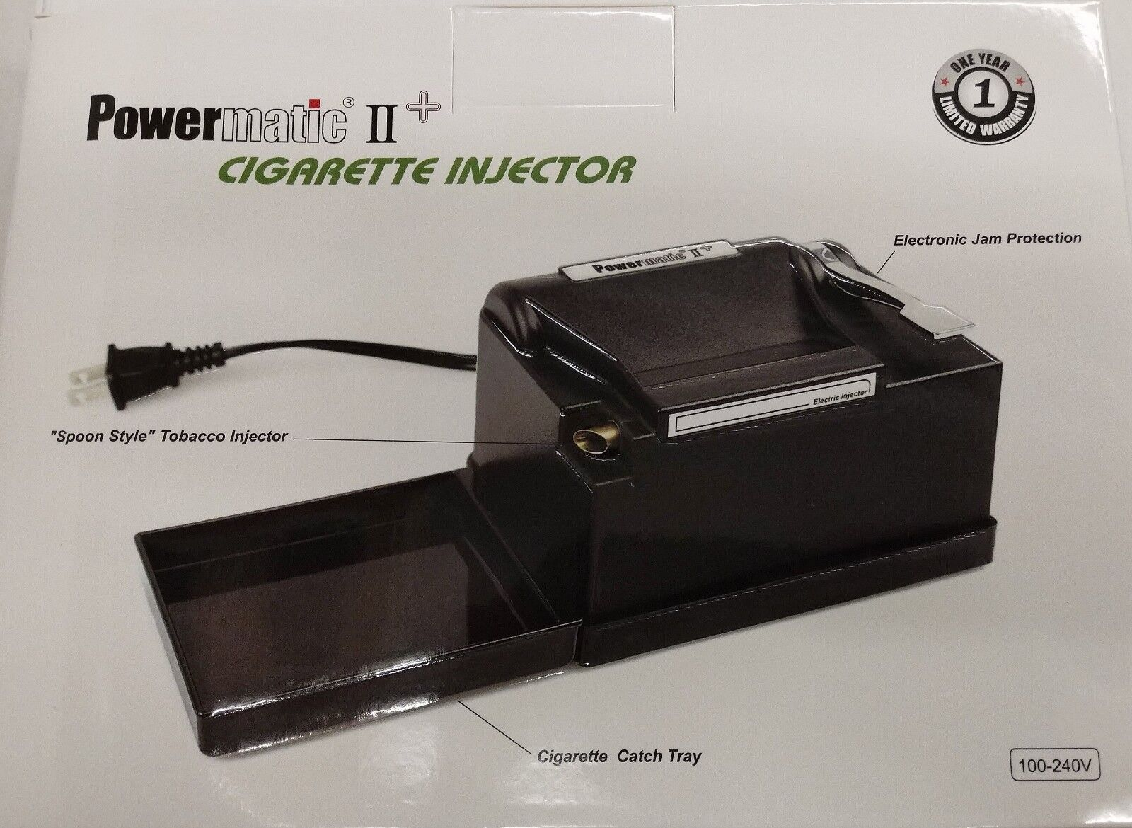 Купить NEW Powermatic 2 II +  Electric Cigarette Injector Machine MAKE KING & 100 MM