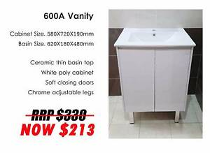 Good Deals - BEST PRICE OF VANITY UNIT ON MAY ONLY Milperra Bankstown Area Preview