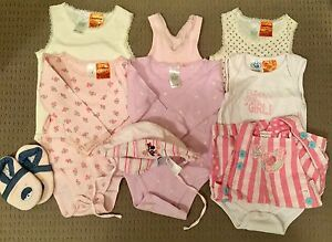 Size 0-1 baby girl bundle of clothes, hat and shoes Werrington Penrith Area Preview