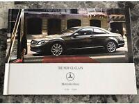 Mercedes-Benz CL Coupe CL500 CL600 V12 Hardcover Prospekt Brochure 08.1999