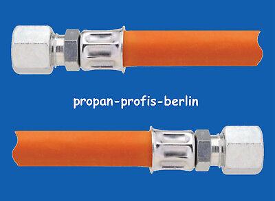 40 cm Propangasschlauch RVS 8 mm x  RVS 8 mm - Gasschlauch 400 mm/0,4 m ()