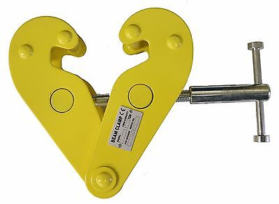 V-lift Industrial I-beam 1-ton Beam Clamp 2204 Lb 3-9 Beam Size
