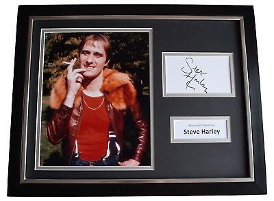 Steve Harley Signed Framed Photo Autograph 16x12 display Cockney Rebel Music COA