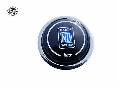 ORIGINAL NARDI TORINO HUPENKNOPF SPORTLENKRAD NABE COVER PUSH BUTTON HORN