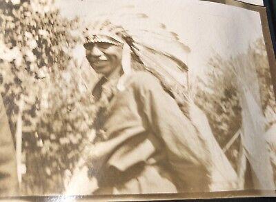 Antique Photo Album Native Americans, Wooden Boats, Bathing Beauty's??(Cross D