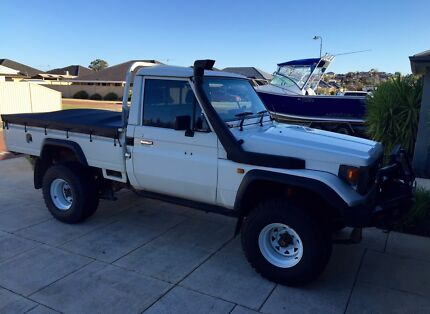 1995 Toyota Landcruiser 75 series 1fz-fe  Hocking Wanneroo Area Preview