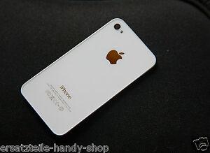 für original Iphone 4 4g Backcover Akkudeckel in Weiss Rückschalle Rückseite