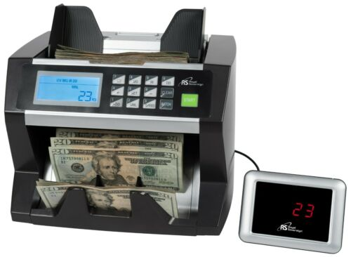 Royal Sovereign Digital Cash Bill Counter Up To 500 Bills Counterfeit Detection