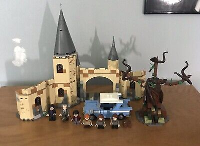Lego Harry Potter Whomping Willow 75953 Hogwarts Complete
