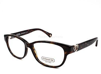 COACH HC 6038 5001 Amara Eyeglasses Optical Frames Glasses Dark Tortoise ~ 51mm