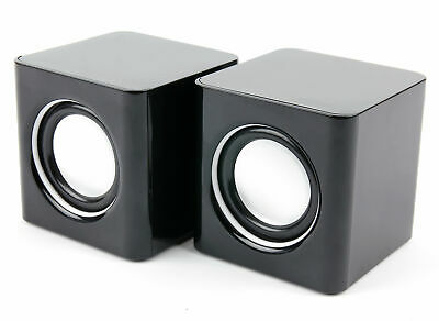 Speakers w/ High Quality Sound For Toshiba Netbook NB520, Satellite L735 &...