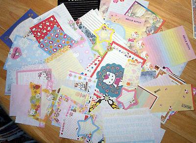 Lot Sanrio Hello Kitty Stationery/Stationary Memo 75 -