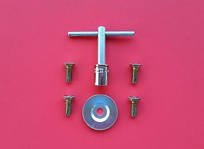 Parts Clarke Super 7 7r Edger Floor Sander Sand Paper Bolts Washer Wrench Key