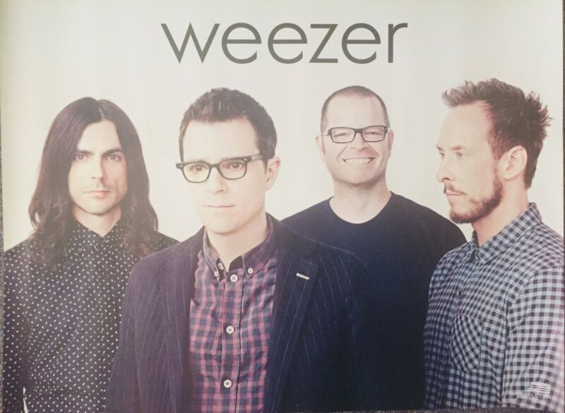 WEEZER 2014 18x24 ROCK promo POSTER - Everything Will Be Alright In The End