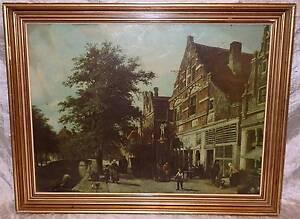 Johannes Franciscus Spohler Dutch Townscape Zuiderhavendijk South Windsor Hawkesbury Area Preview