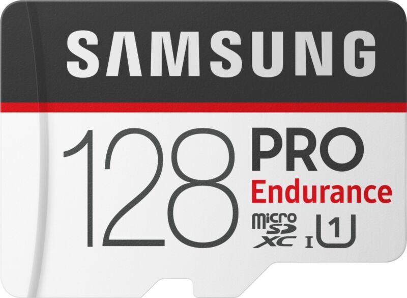 Samsung - 128GB PRO Endurance MicroSDXC UHS-I Memory Card