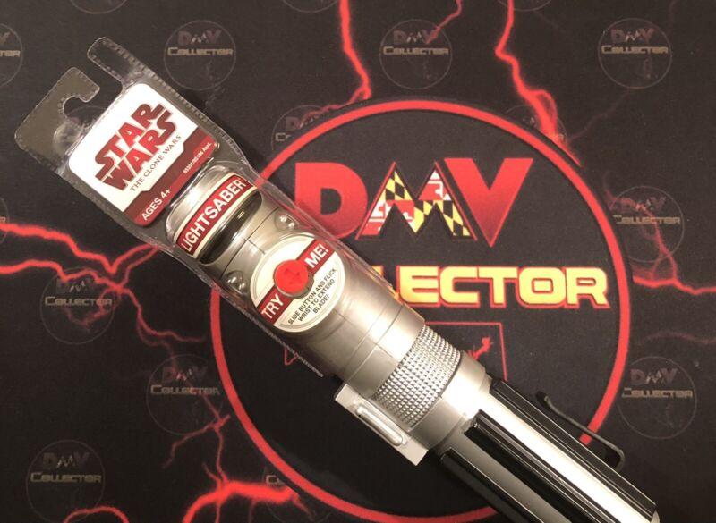 "Star Wars Hasbro Light Saber 2005 LucasFilm The ""Clone Wars"" Still SEALED"