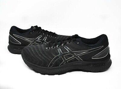ASICS Men's GEL-Nimbus 22 in Black/Black Sz 8-13 New
