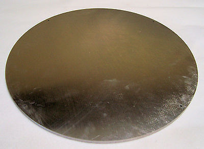 1 Aluminum Disc 516 Thick X 16 34 Dia. Mic-6 Cast Tooling Plate Disk