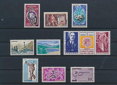 LO15714 Andorra mixed thematics nice lot of good stamps MNH
