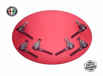 6 x Track Rod End Joint Set Spider Alfa Romeo 105/115 Giulia Gt Bertone