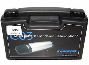 Samson C03 Multi-Pattern Condenser Microphone Joondalup Joondalup Area Preview