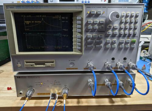 HP/Agilent 4395A 500MHz Network Analyzer w/ 87511A Test Set & Accys - Tested