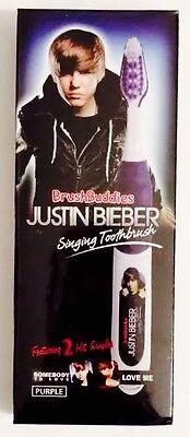 New Brush Buddies Justin Bieber Singing Toothbrush Somebody To Love Love Me Song