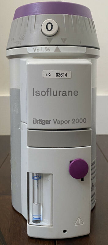 Drager Medical Isoflurane vapor 2000 Vaporizer