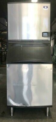 Off Lease Manitowoc Iy0906a-261 Ice Machine And B570 Bin