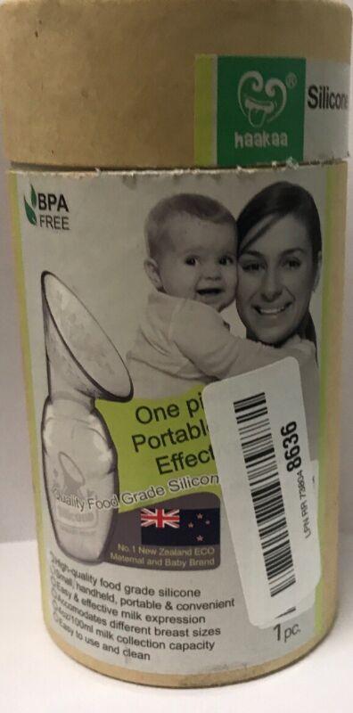 Haakaa Silicone Breastfeeding Manual Breast Pump Milk Pump -USED
