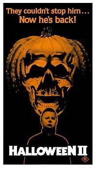 Halloween Nightmare 2 (HALLOWEEN 2: THE NIGHTMARE ISN'T OVER! Movie POSTER 13x30 Australian Jamie Lee)