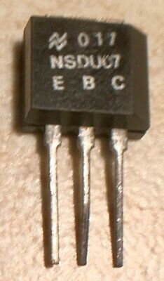 National Nsdu07 Npn Power Transistor - Nos