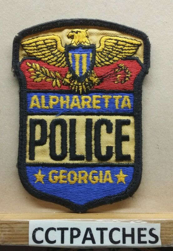 ALPHARETTA, GEORGIA POLICE SHOULDER PATCH GA