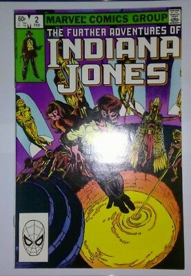 The Further Adventures of Indiana Jones #2 (Feb 1983, Marvel Comics)