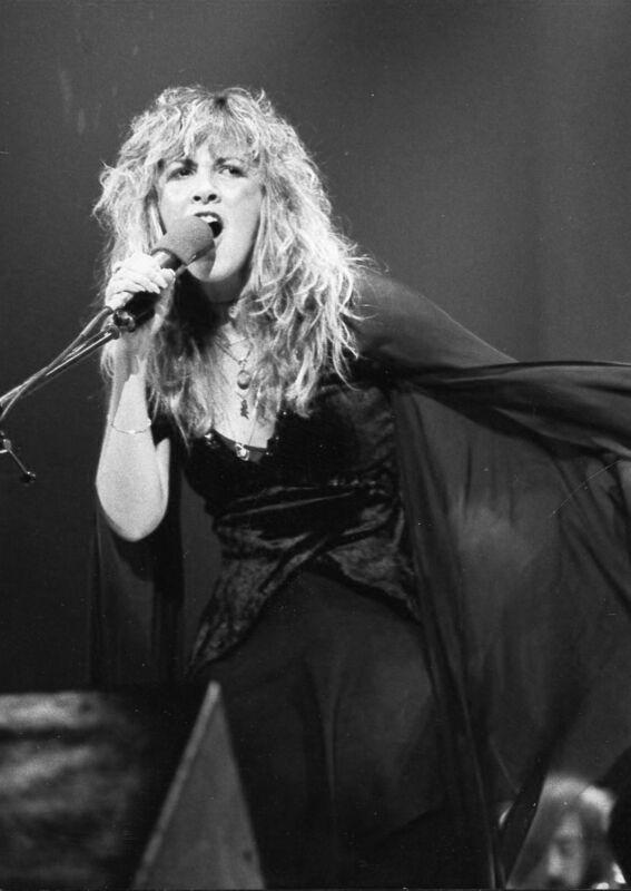 Stevie Nicks Singing Hard 8x10 Photo Print