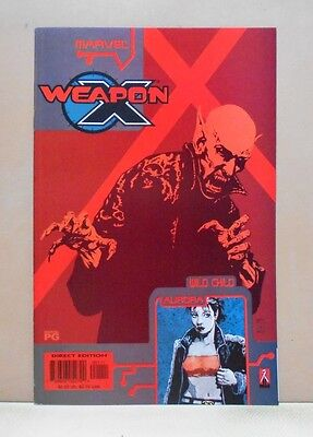 WEAPON X: THE DRAFT - WILD CHILD/AURORA 10/02 Marvel 9.0 VF/NM Uncertified