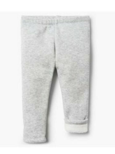 Gymboree Baby Girl Lined Leggings Grey NWT!