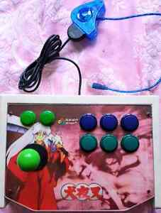 Anime Style Arcade Controller for Playstation with PC USB Adapger Strathfield South Strathfield Area Preview
