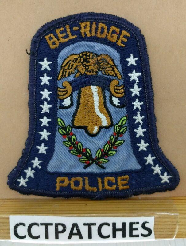 BELL-RIDGE, MISSOURI POLICE (BROWN) SHOULDER PATCH MO