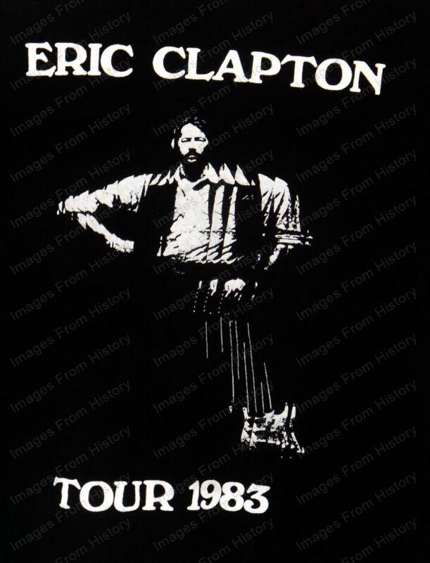 8x10 Print Eric Clapton Tour 1983 #EC231