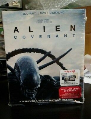 Alien Covenant   Blu Ray  Dvd Digital Hd   Target Exclusive Digibook