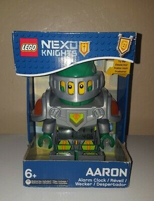 LEGO Nexo Knights Aaron Alarm CLOCK New Sealed Box 9009426
