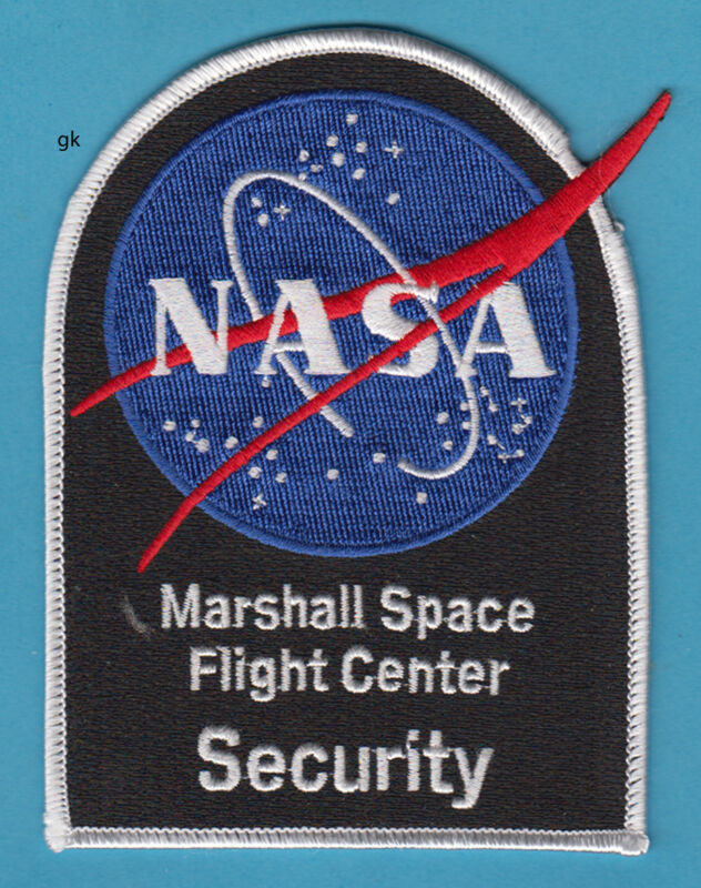 NASA MARSHALL SPACE FLIGHT CENTER SECURITY POLICE SHOULDER PATCH
