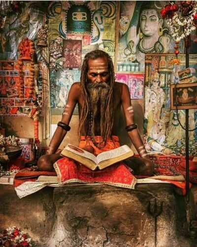 Real Aghori Made Kali Ashta Siddhi Necklace - Obtained 8 Occult Psychic Powers