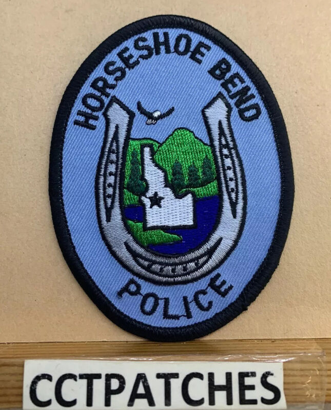 HORSESHOE BEND, IDAHO POLICE SHOULDER PATCH ID
