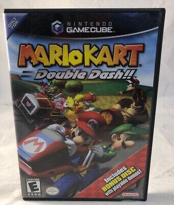 GC Mario Kart: Double Dash With Bonus Disc CIB (Nintendo GameCube, 2003) Tested comprar usado  Enviando para Brazil