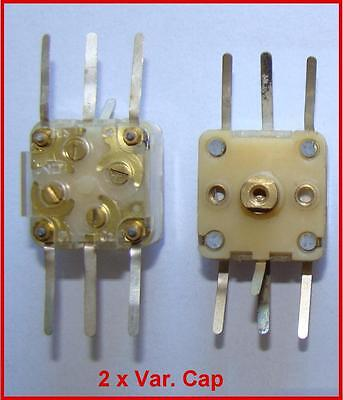 Used, Miniature Tuning Variable Capacitor 360pF IC